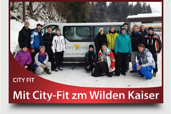 Mit City-Fit zum Wilden Kaiser